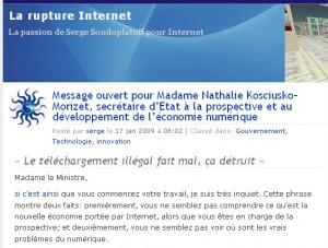 Le Blog...