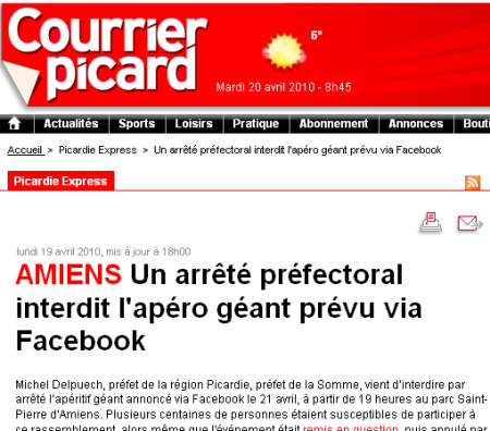 capture article courrier picard